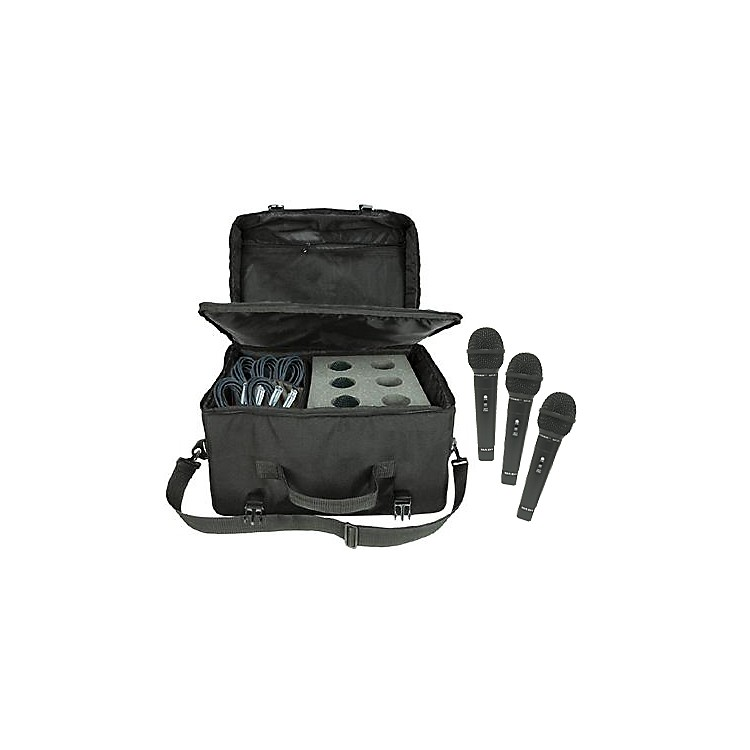 NadySP-R3 Mic 6-Pack with Cables and Mic Bag