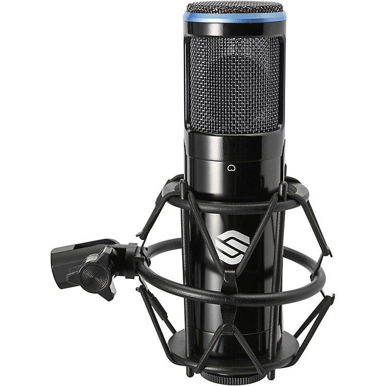 Sterling AudioSP150 Microphone with Shockmount and Carry CaseBlack