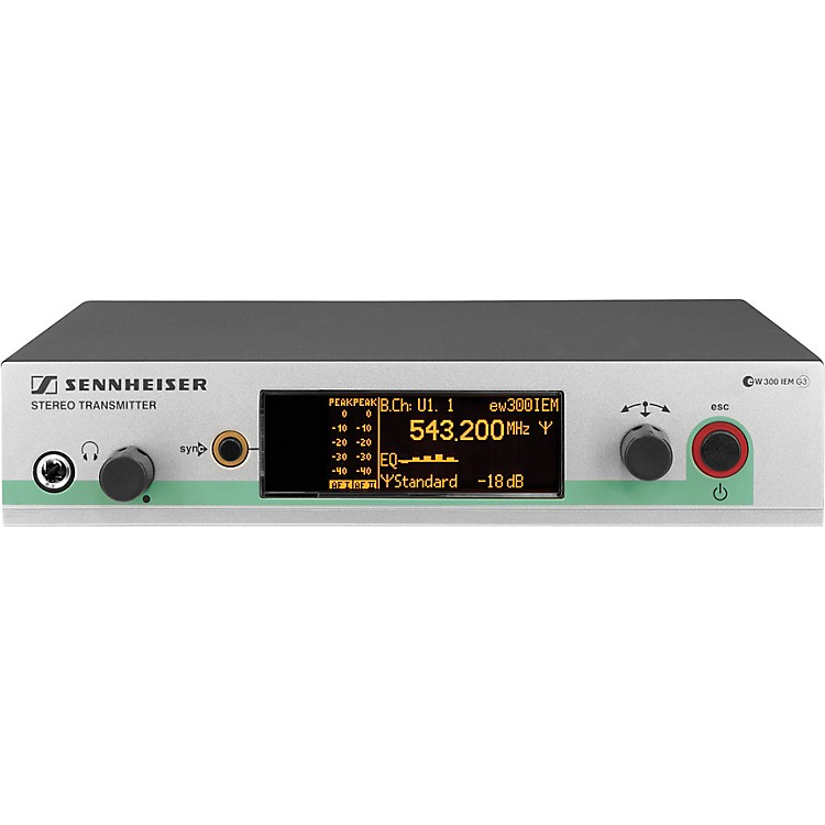 SennheiserSR 300 IEM G3 In-Ear Monitor System Transmitter OnlyBand A