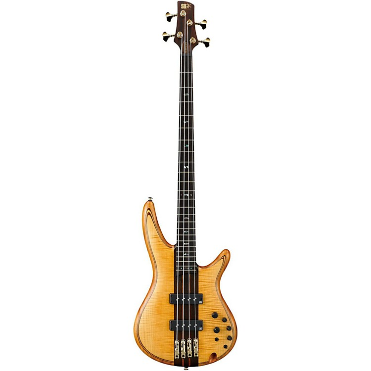 Ibanez SR1400TE 4-String Electric Bass Guitar Flat Vintage Natural