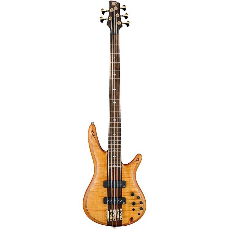 IbanezSR1405TE 5-String Electric Bass GuitarFlat Vintage Natural