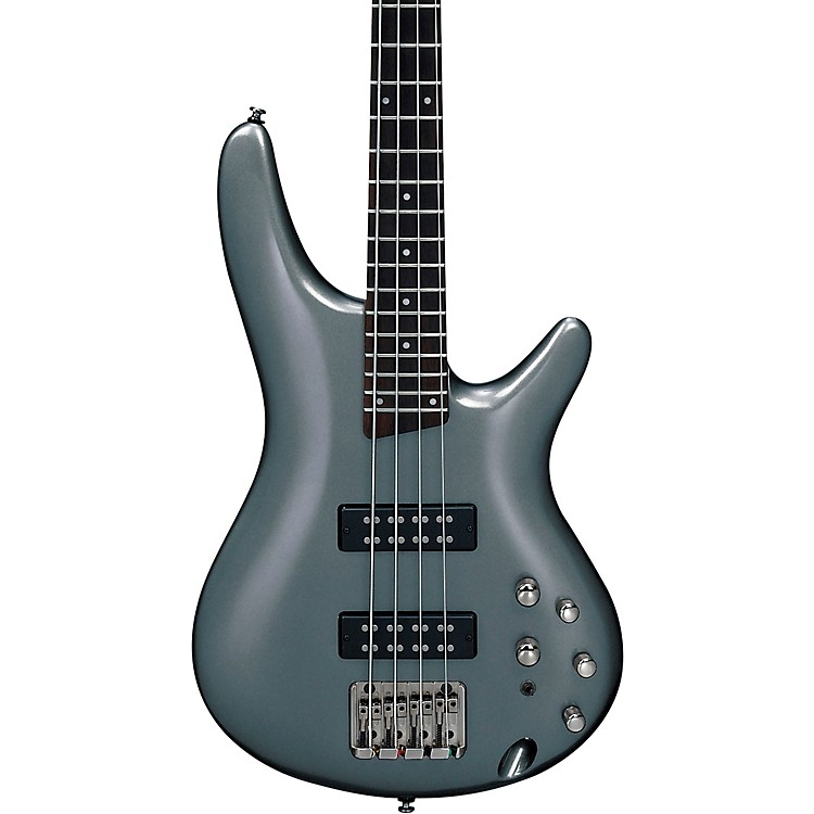 Ibanez SR300E Electric Bass Guitar Metallic Gray