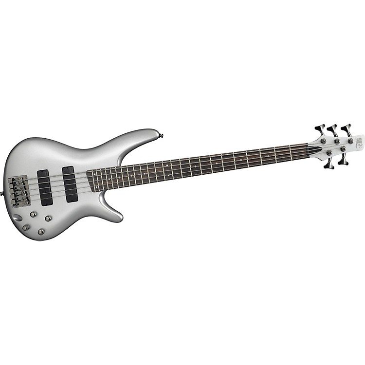 Ibanez SR305 5-String Bass Guitar Iron Pewter