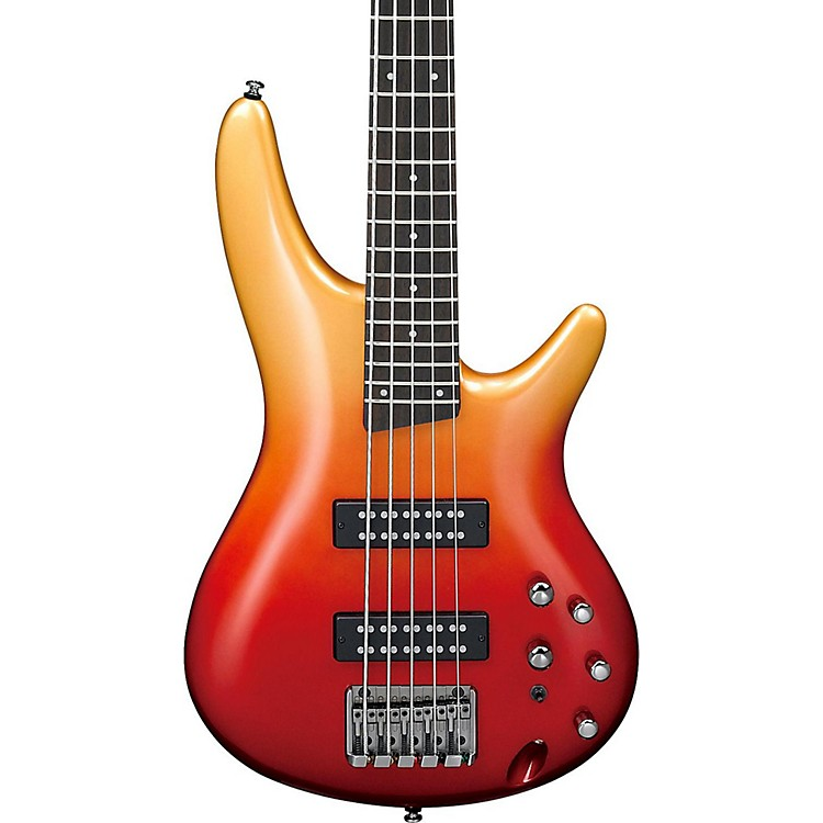 IbanezSR305E 5-String Electric Bass GuitarAutumn Fade Metallic