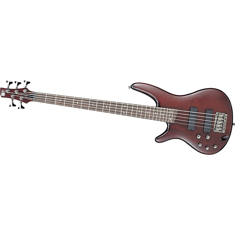 IbanezSR505 Left-Handed 5-String Bass GuitarBrown Mahogany886830902581
