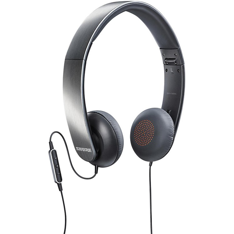 ShureSRH145M+ Portable Headphones With Remote + Mic
