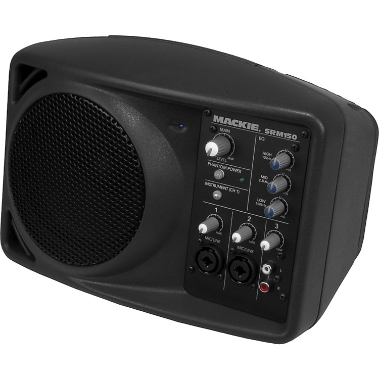 Mackie SRM150 Active Speaker (Black)  888365816524