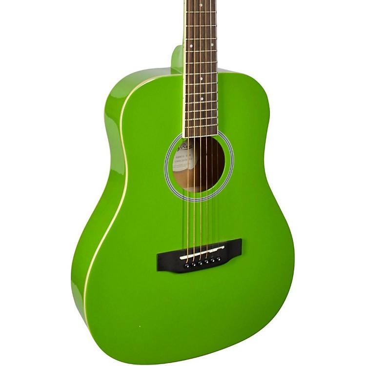 Stony RiverSRMD1 1/2 Size Mini Dreadnought Acoustic GuitarGreen