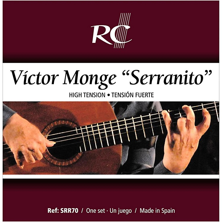 rc strings srr70 serranito high tension nylon guitar strings with a carbon 3rd music123. Black Bedroom Furniture Sets. Home Design Ideas