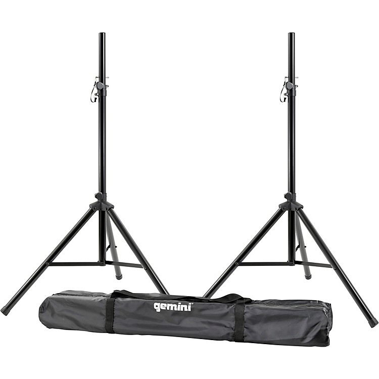 GeminiST-Pack Speaker Stand Set With Carrying Case