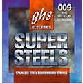 GHS ST-XL Super Steels Roundwound Extra Light Electric Guitar Strings  -thumbnail