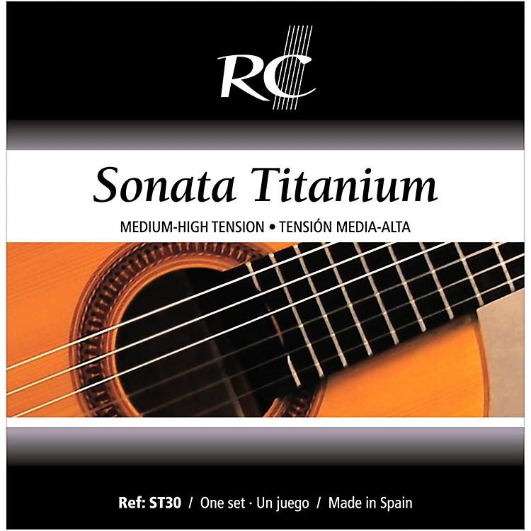 RC StringsST30 Sonata Titanium Medium-High Tension Nylon Guitar Strings with Titanium Trebles