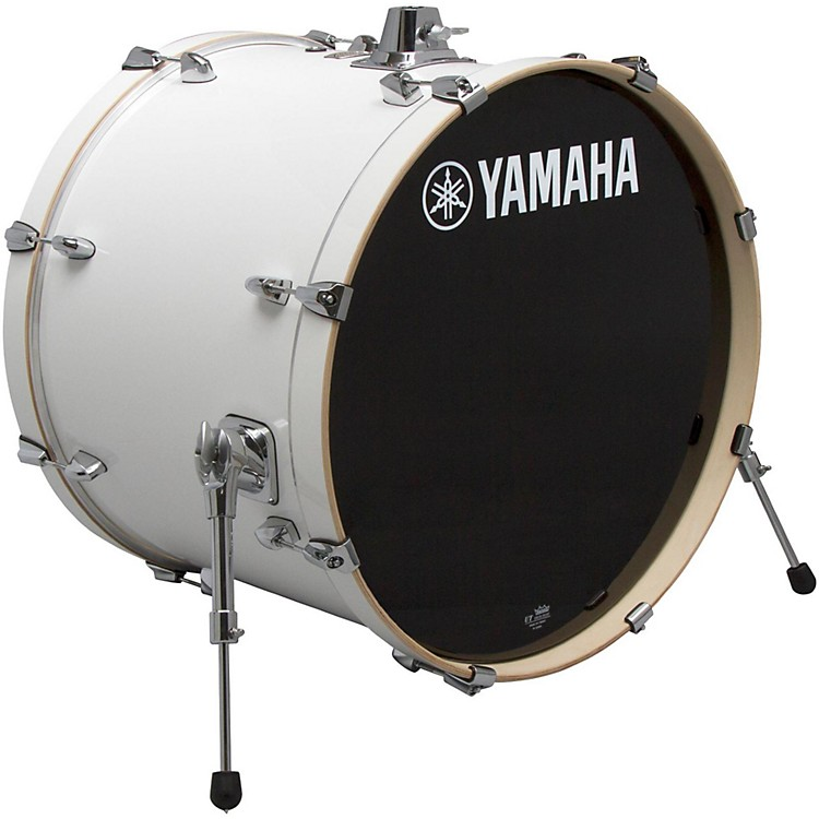 Yamaha STAGE SBB 2017NW CUSTOM BIRCH BASS DRUM 20X17 IN NATURAL WOOD 20 x 17 in. Pure White