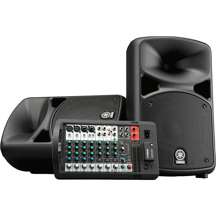YamahaSTAGEPAS 600BT Portable PA System with Bluetooth