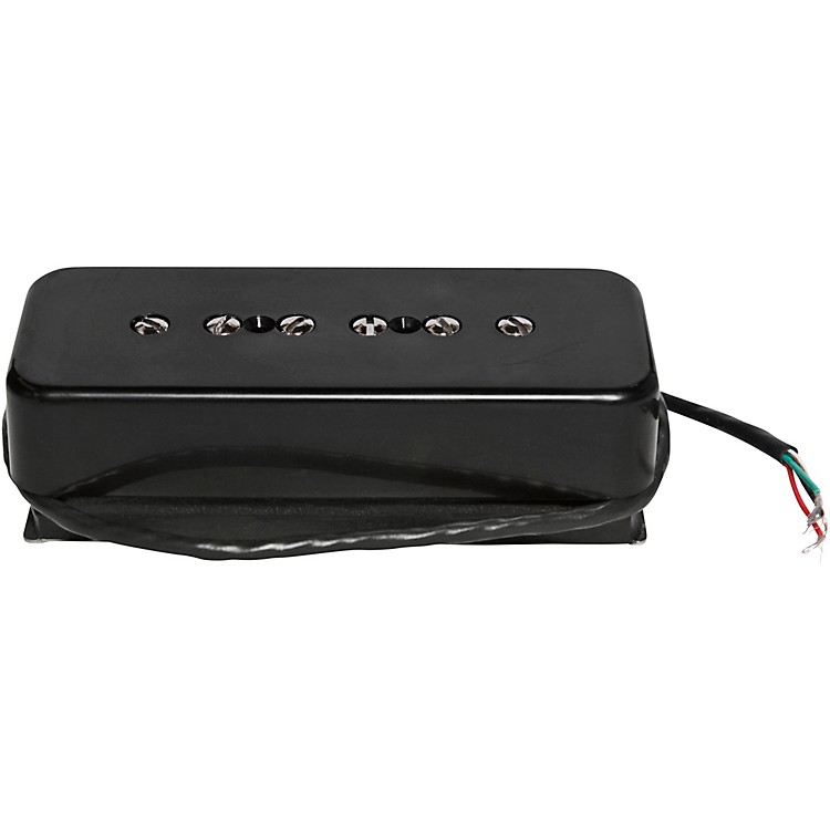Seymour Duncan STK-P1 Stacked P-90 Single-Coil Pickup Black Bridge