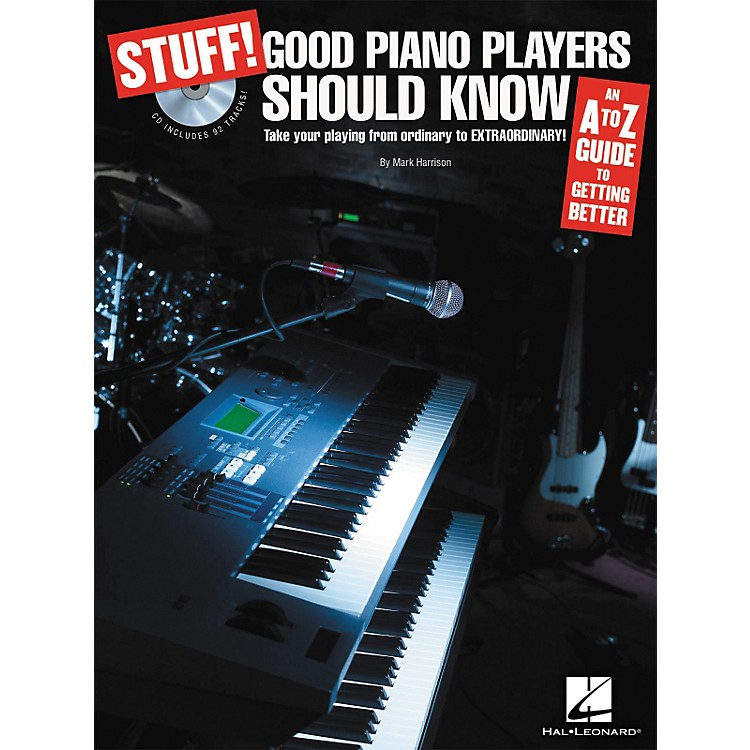 Hal Leonard STUFF! Good Piano Players Should Know (Book/CD)
