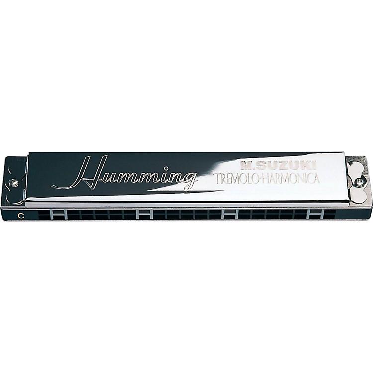SuzukiSU-21H Humming Tremolo HarmonicaAm