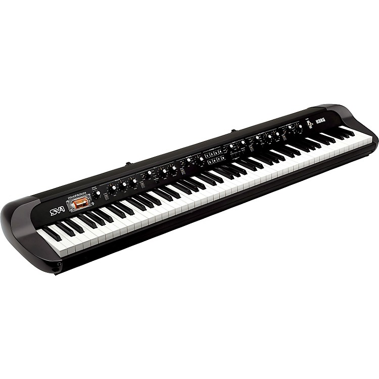 Korg SV-1 88-Key Stage Vintage Piano Black 888365815824
