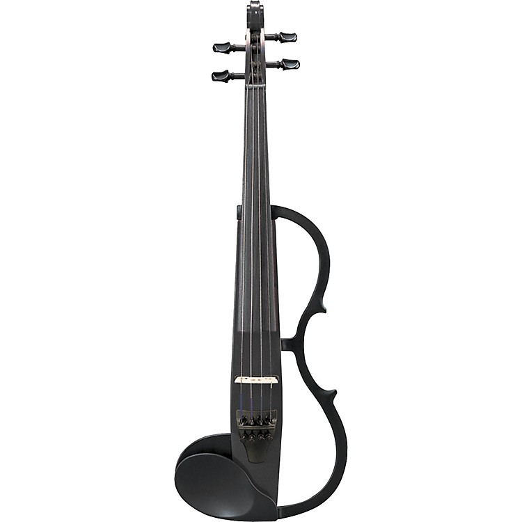 Yamaha SV-130 Series Silent Electric Violin - Instrument Only Black Instrument Only