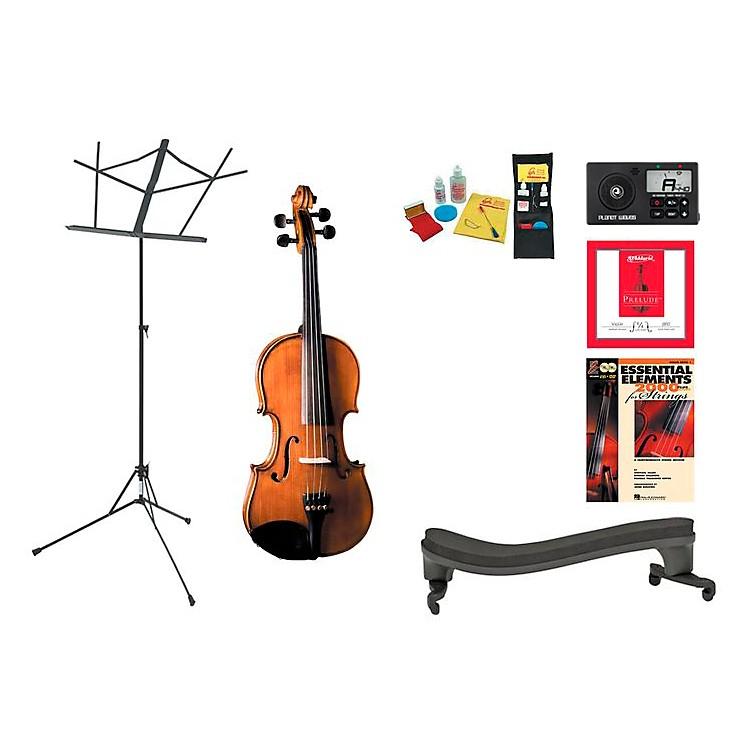 CremonaSV-175 Beginner Student 1/2 Violin Bundle
