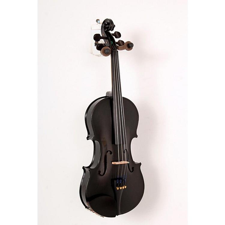 CremonaSV-75BK Premier Novice Series Sparkling Black Violin Outfit4/4 Outfit888365822525