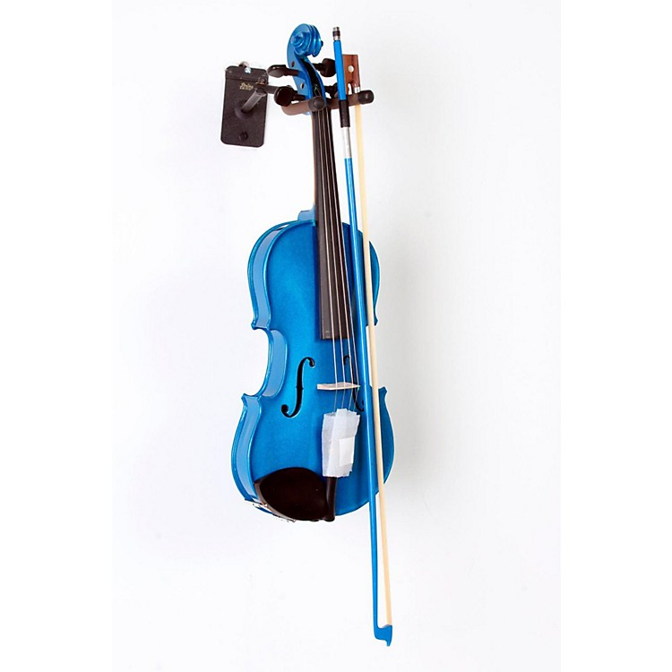 Cremona SV-75BU Premier Novice Series Sparkling Blue Violin Outfit 3/4 Outfit 888365806204
