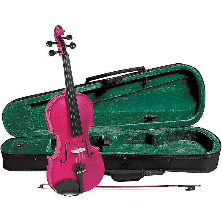 CremonaSV-75RS Premier Novice Series Sparkling Rose Violin Outfit1/4 Outfit