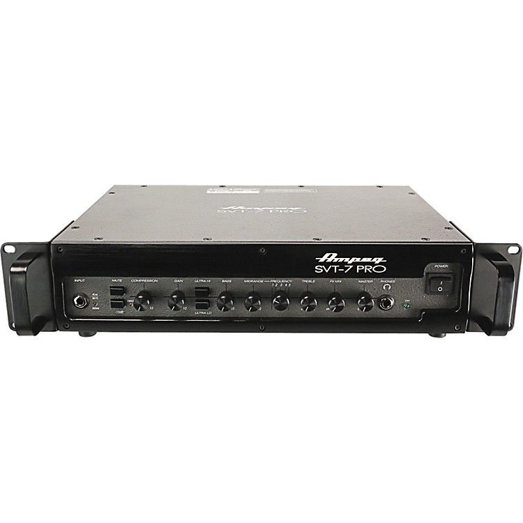 AmpegSVT7PRO 1000W Class D Bass Amp HeadBlack