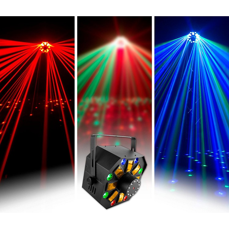 CHAUVET DJ SWARMWASHFX Stage Laser with LED Lighting Effect and Strobe Light