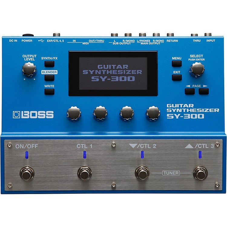 Boss SY-300 Guitar Synthesizer  888365814544