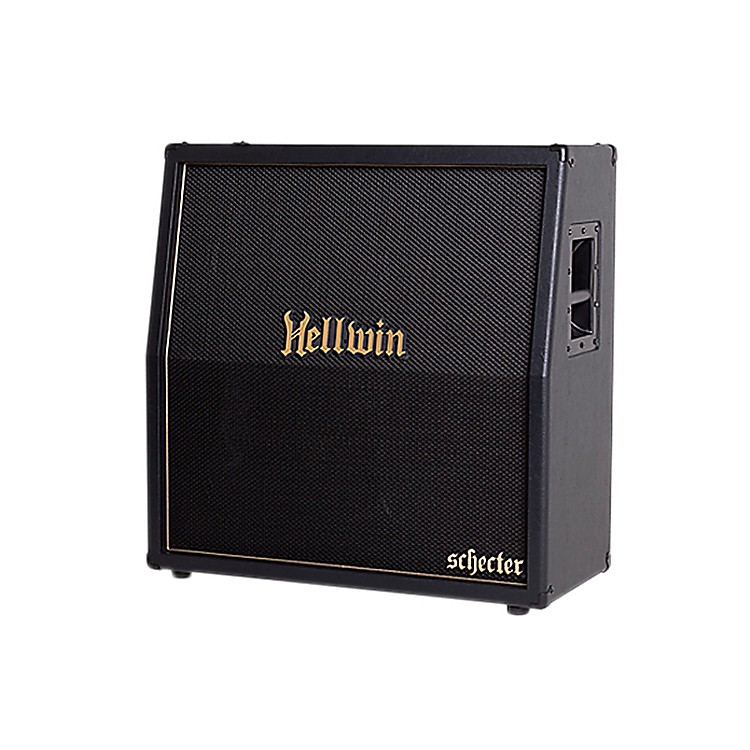 Schecter Guitar ResearchSYN412-SL Hellwin USA 4x12 Slant Guitar Speaker Cabinet