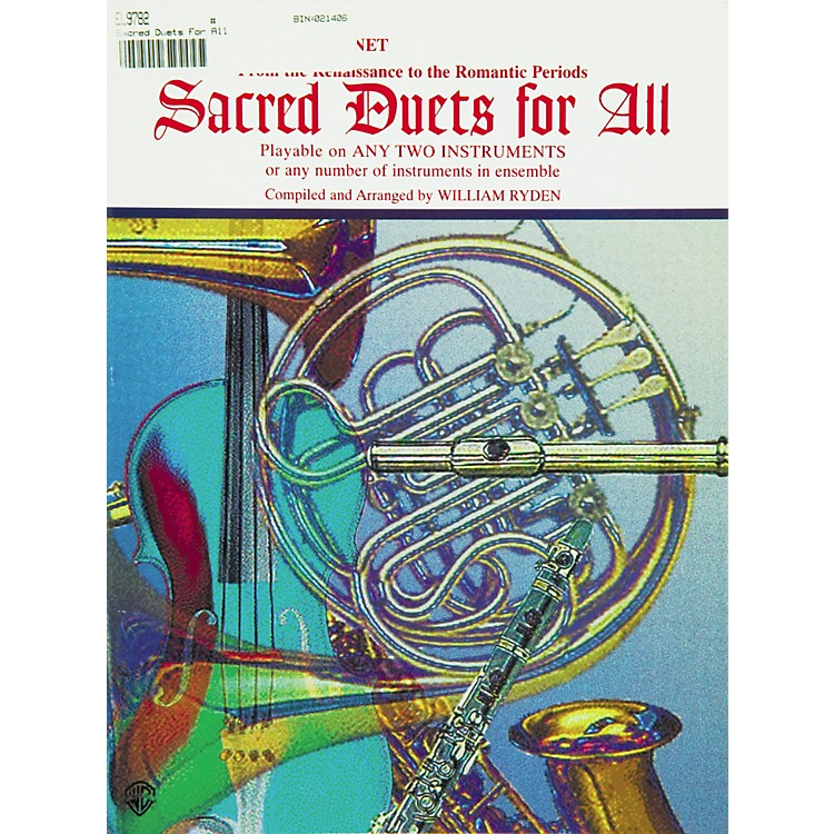 AlfredSacred Duets for All B-Flat Clarinet & Bass Clarinet