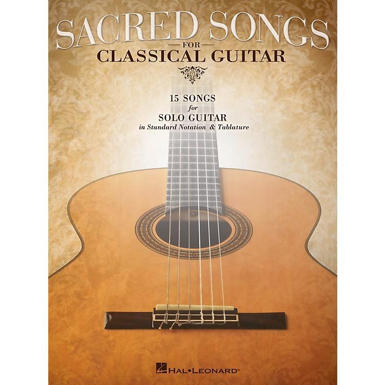 Hal LeonardSacred Songs For Classical Guitar (Standard Notation & Tab) Songbook