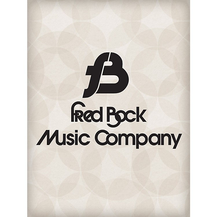 Fred Bock MusicSacred Songs For Instr. Eb Instrumental Solo/Ensemble Fred Bock Publications Series
