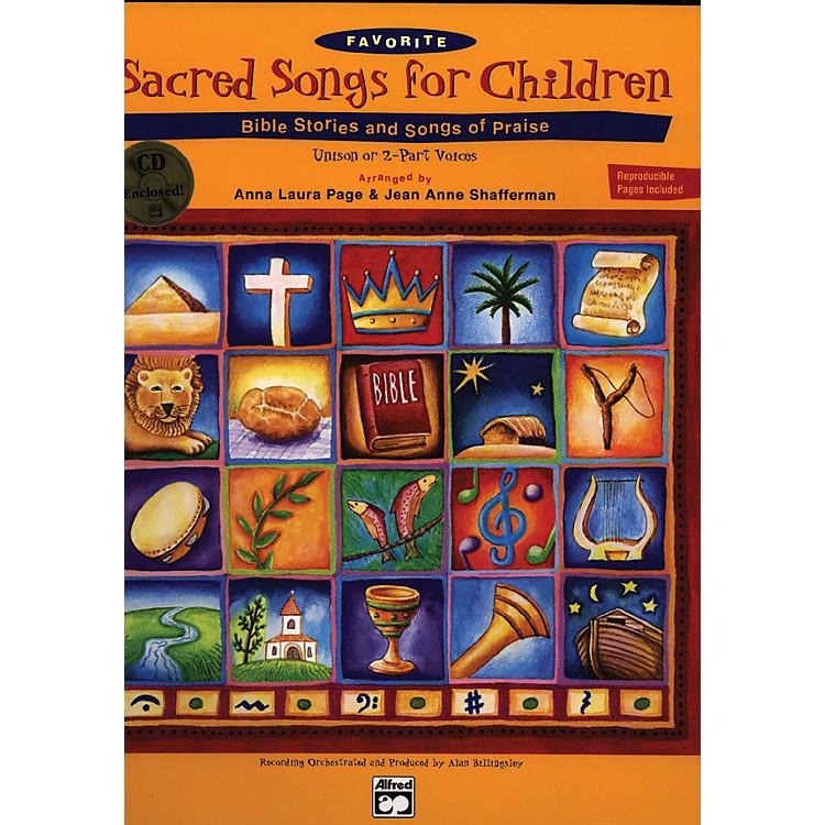 AlfredSacred Songs for Children Book/CD