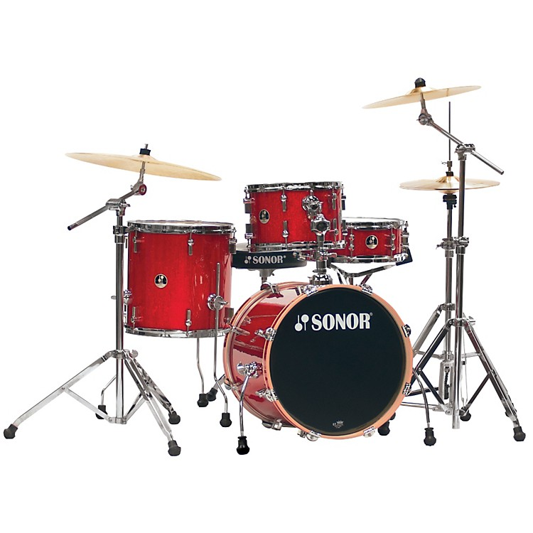 SonorSafari 4-Piece Shell PackRed Galaxy Sparkle