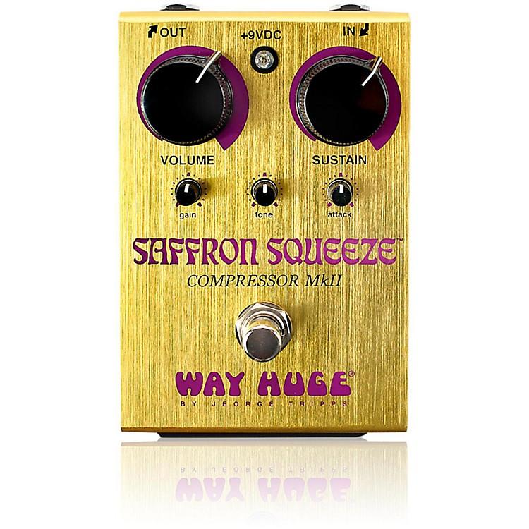 Way Huge ElectronicsSaffron Squeeze Compressor Guitar Effects Pedal