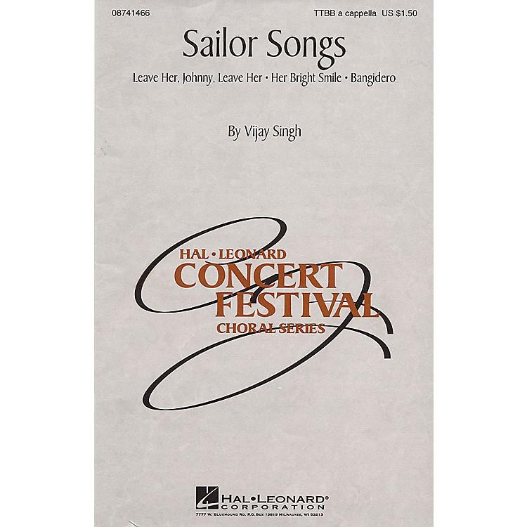 Hal LeonardSailor Songs (Collection) TTBB A Cappella arranged by Vijay Singh