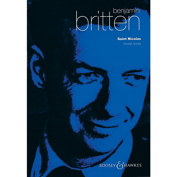 Boosey and HawkesSaint Nicolas, Op. 42 (Choral Score) SATB composed by Benjamin Britten