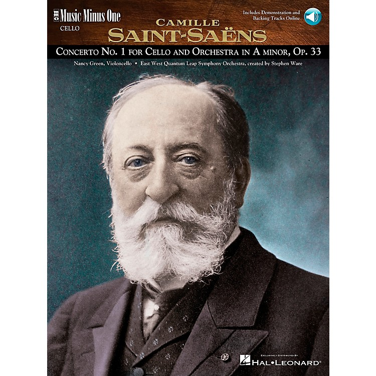 Music Minus OneSaint-Saens - Conc No. 1 for Violoncello and Orch in A min, Op. 33 Music Minus One BK/CD by Nancy Green