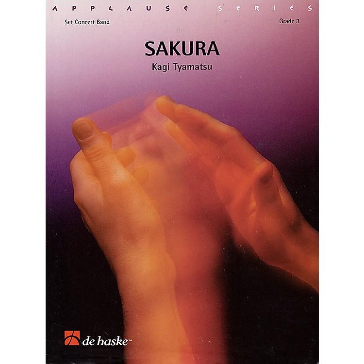 De Haske MusicSakura Concert Band Level 3 Composed by Kagi Tyamatsu