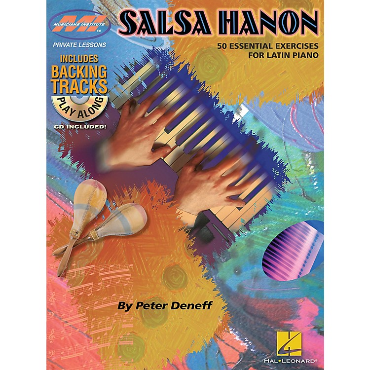 Musicians InstituteSalsa Hanon Play-Along Musicians Institute Press Series Softcover with CD Written by Peter Deneff
