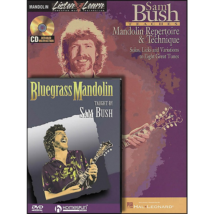 Hal Leonard Sam Bush Mandolin Bundle Pack (Book/CD/DVD)