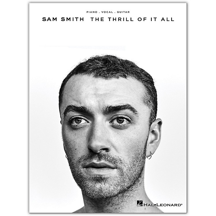 Hal Leonard Sam Smith - The Thrill of It All for Piano/Vocal/Guitar