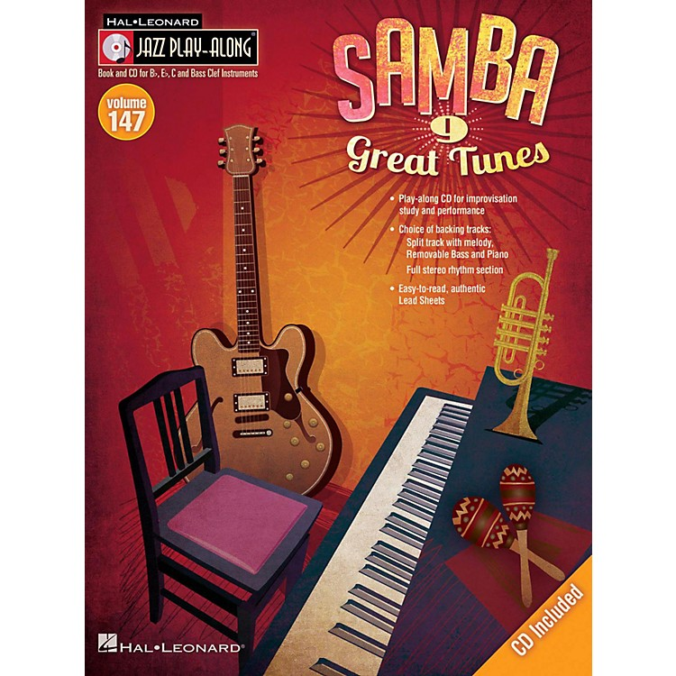 Hal Leonard Samba - Jazz Play-Along Volume 147 Book/CD