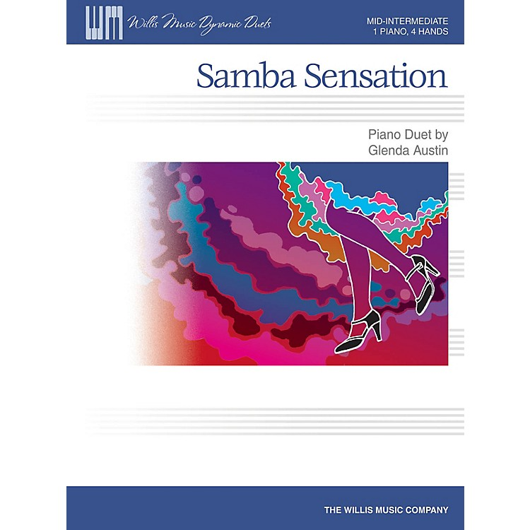 Willis MusicSamba Sensation Willis Series by Glenda Austin (Level Mid-Inter)
