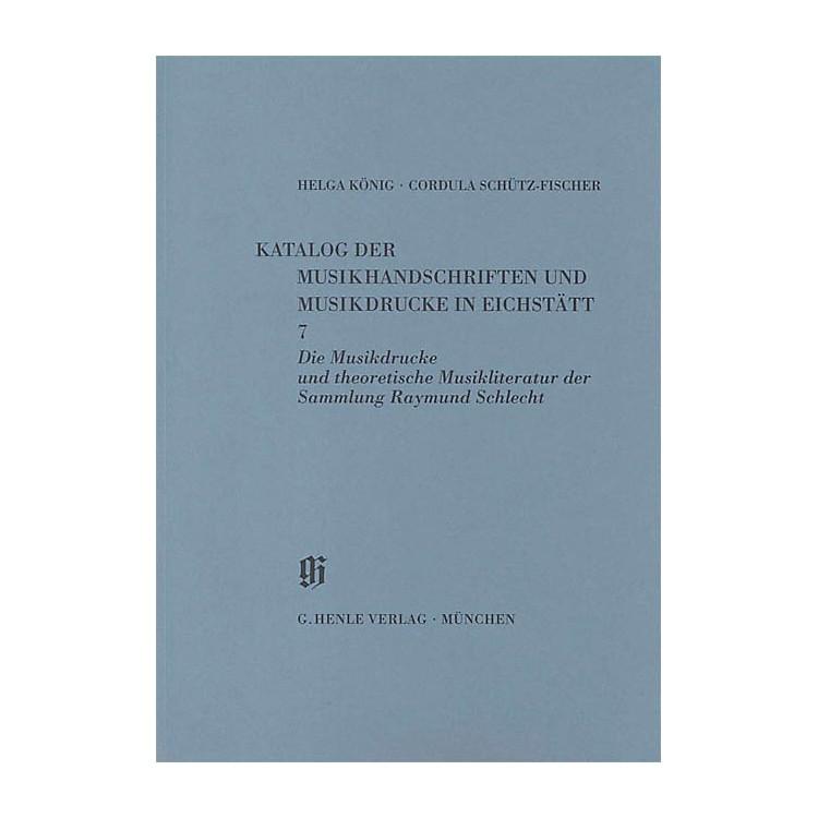 G. Henle VerlagSammlung Raymund Schlecht, Musikdrucke u. theoretische Musikliteratur Henle Books Series Softcover