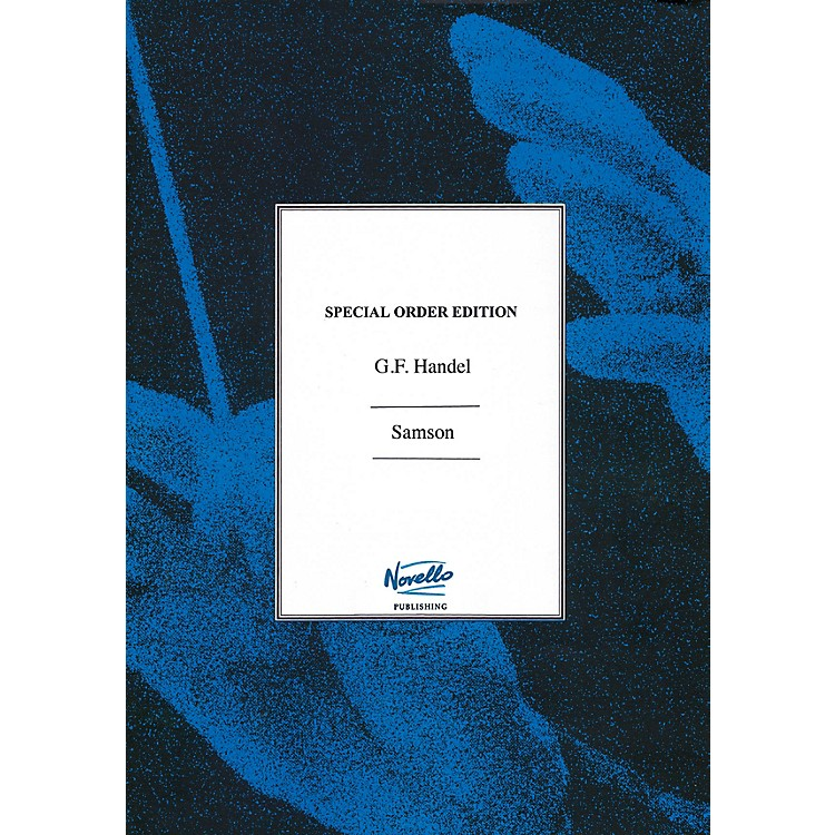 NovelloSamson (Flute Parts Edited By Donald Burrows) Music Sales America Series Softcover