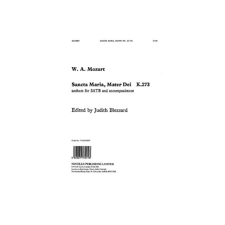 NovelloSancta Maria, Mater Dei (K.273) SATB