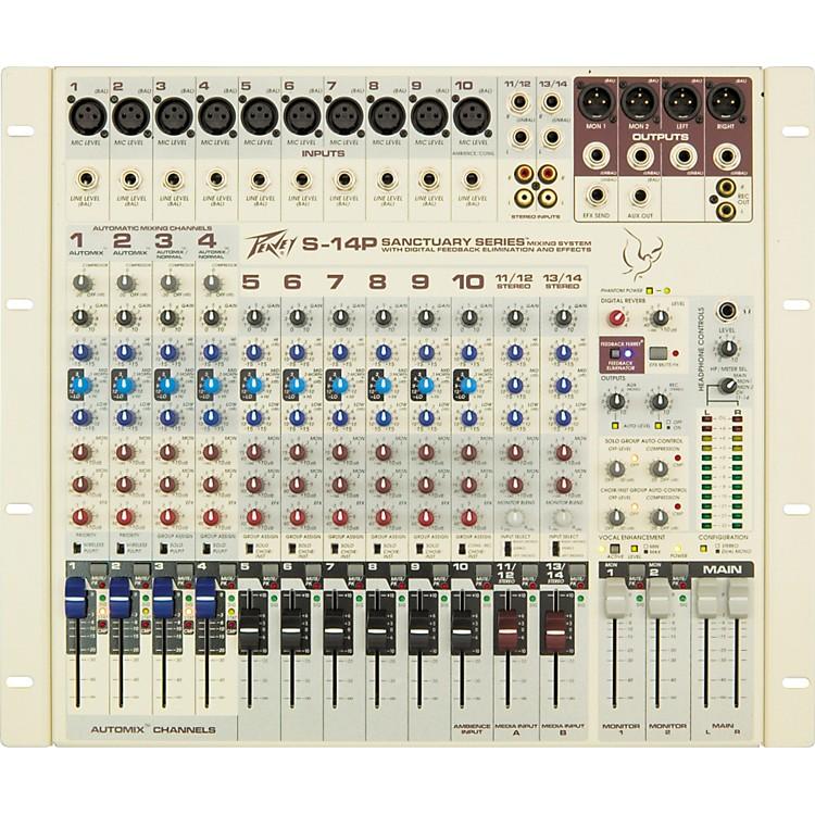 PeaveySanctuary Series S-14P 12-Channel Powered Mixer